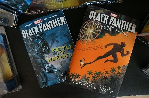 Marvel Black Panther merchandise books Battle of Wakanda The Young Prince