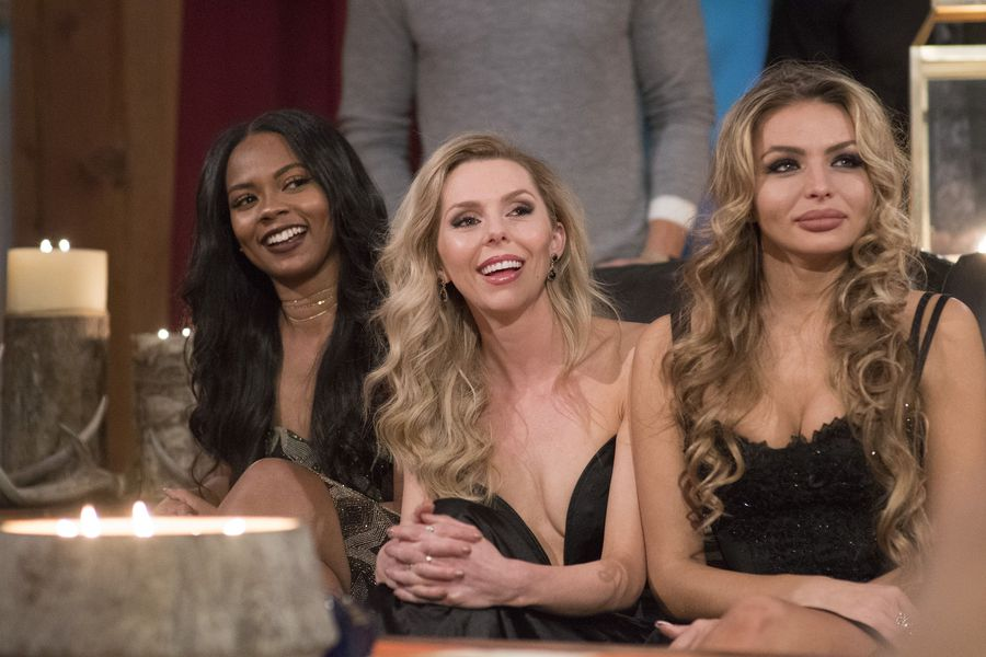 THE BACHELOR WINTER GAMES – (ABC:Lorenzo Bevilaqua) LAUREN GRIFFIN, LAURA BLAIR, NASTASIA YARAMCHUK