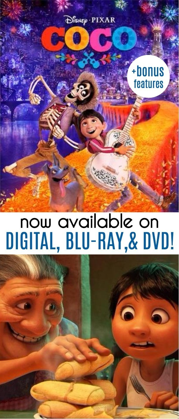 These 5 Disney Pixars Coco Blu-ray Bonus Features Show The Making of The Movie
