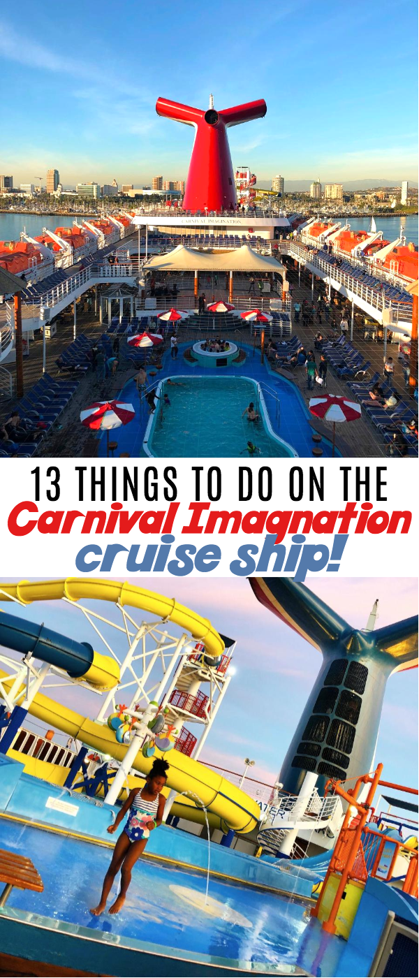 What Is Included In A Carnival Cruise 13 Things To Do On Carnival Imagination Cruise Ship