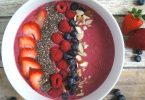 mixed berry smoothie bowl recipe