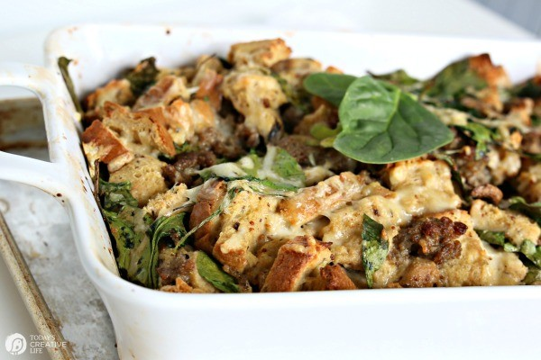 Breakfast strata recipe - Today's Creative Life