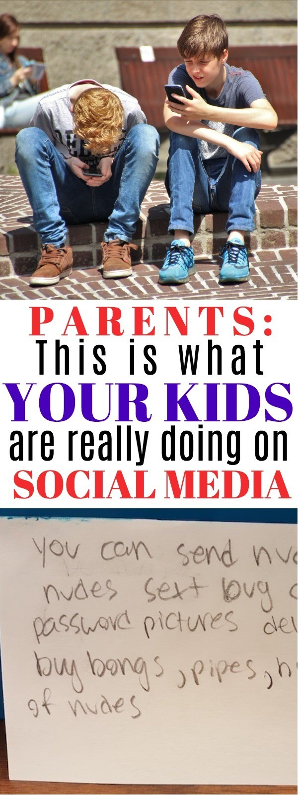 Kids and Social Media - This Behavior Is EXACTLY What Parents Should Know About Social Media