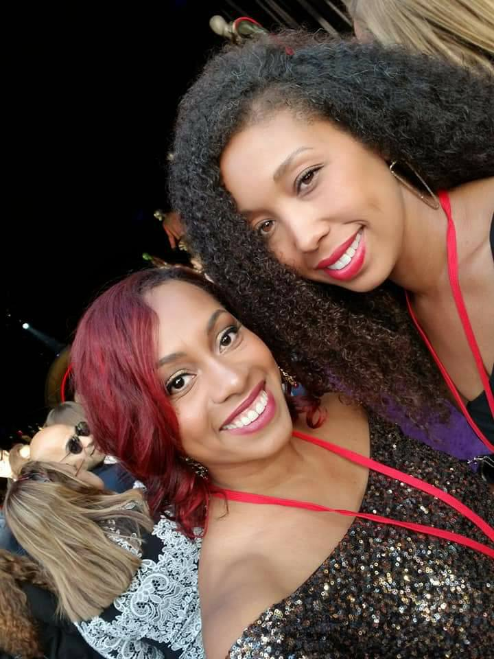 Ari Adams and Deanna Underwood at the Avengers Infinity War movie premiere
