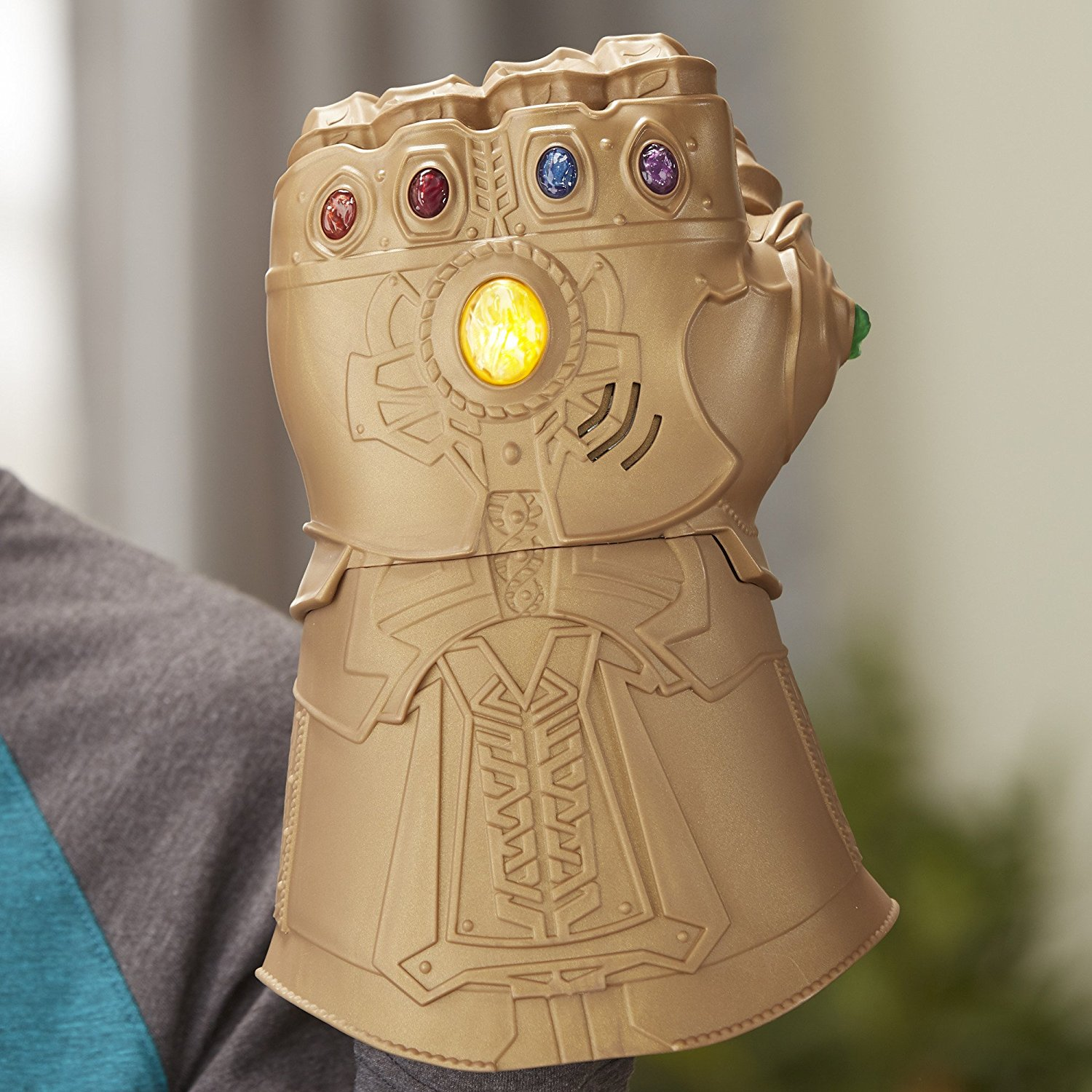 Avengers Infinity War merchandise, Thanos gauntlet with Infinity stones