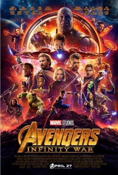 Marvel Studios Avengers Infinity War poster
