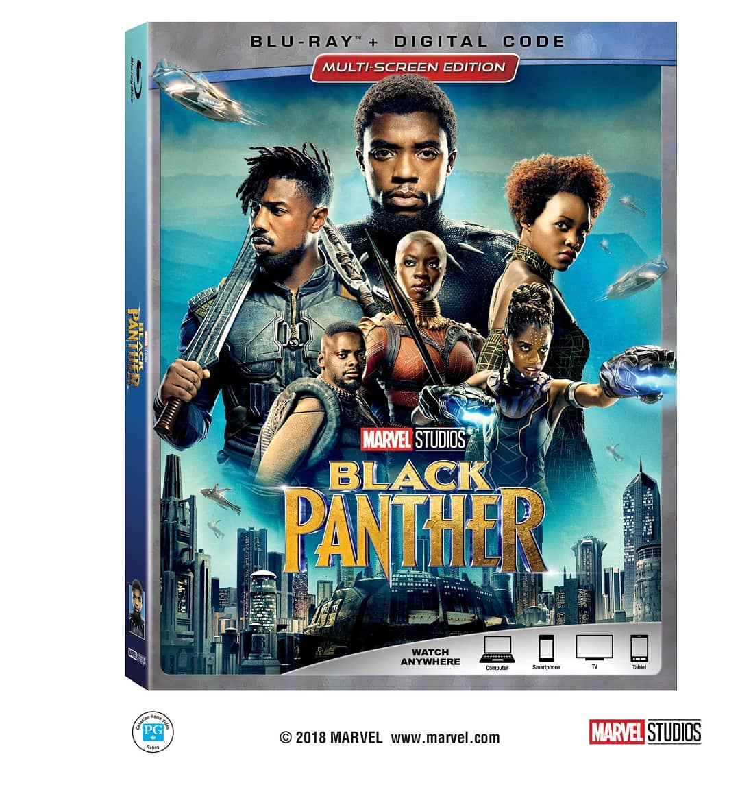 Marvel Studios Black Panther Blu-ray DVD