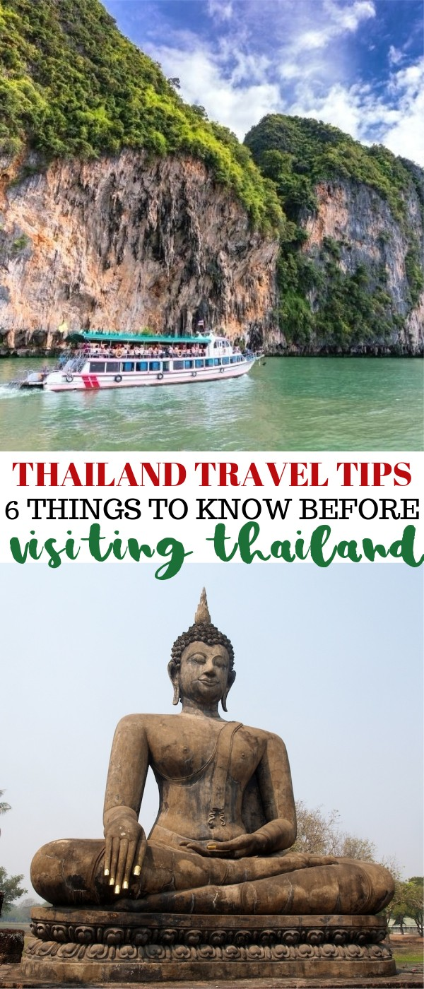Thailand Travel Tips - 6 Things To Know Before Visiting Thailand for Vacation