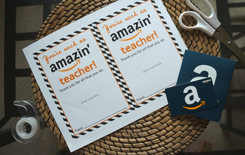 photograph relating to Printable Amazon Gift Card named Amazon reward card recommendations - No cost Amazon trainer reward card