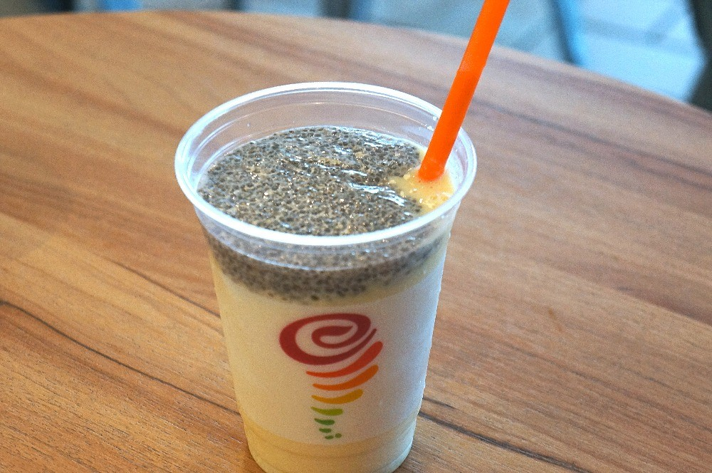 Jamba Juice MANGO CHIA OMEGA SMOOTHIE WITH GREEK YOGURT
