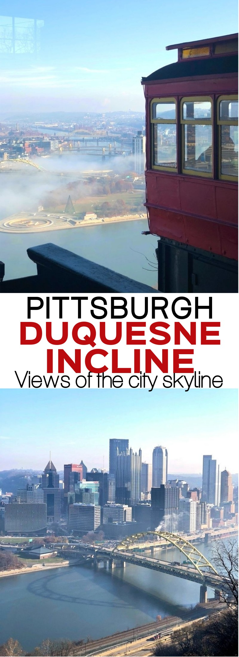 Ride Pittsburgh's Duquesne Incline - Fun Things To Do In Pittsburgh With Kids and Families! | Duquesne Incline Pittsburgh, Duquesne Incline pictures | must see things in Pittsburgh | Pittsburgh PA attractions | honeyandlime.co