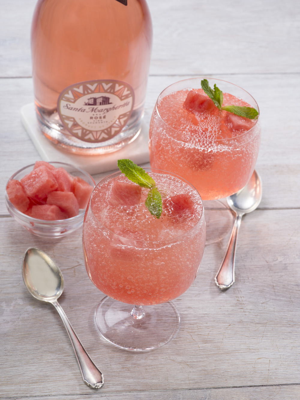 Watermelon frose recipe - how to make watermelon rosé