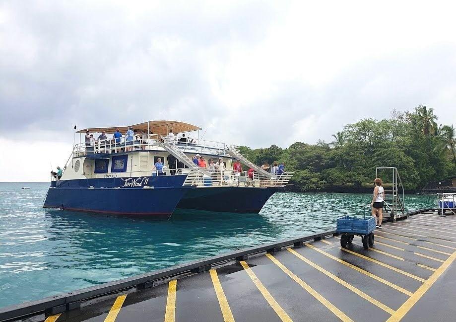 Fair Wind II catamaran in Kona Hawaii