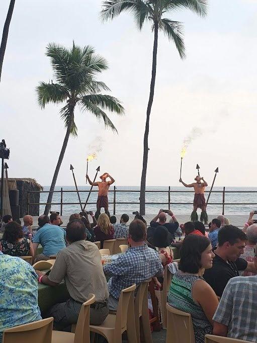 Royal Kona Resort luau in Kona Big Island Hawaii
