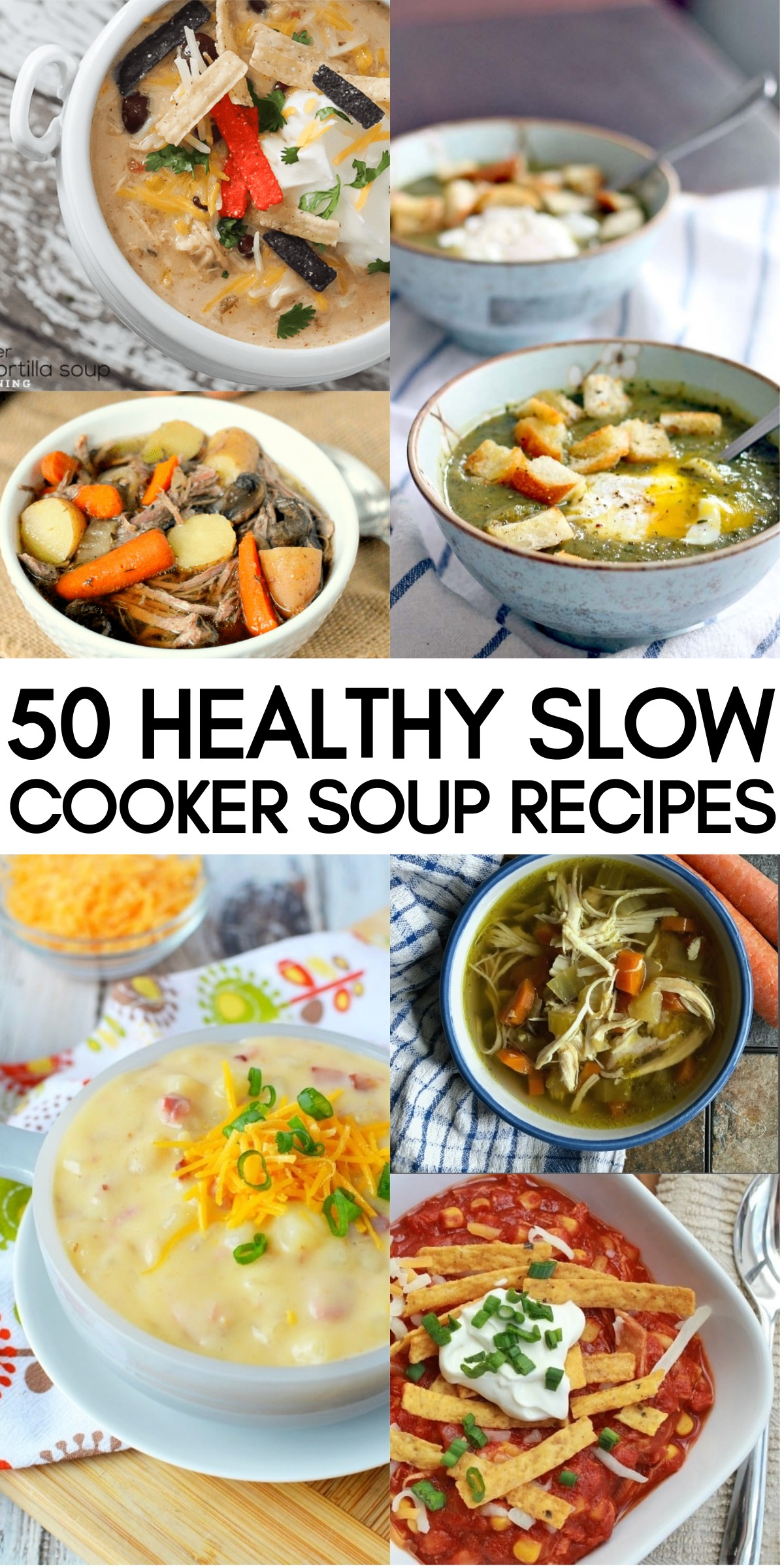 50 Healthy Slow Cooker Soup Recipes To Warm You Up This Season | crock pot soup recipes | slow cooker soups and stews | crock pot soup easy | soup recipes slow cooker | honeyandlime.co