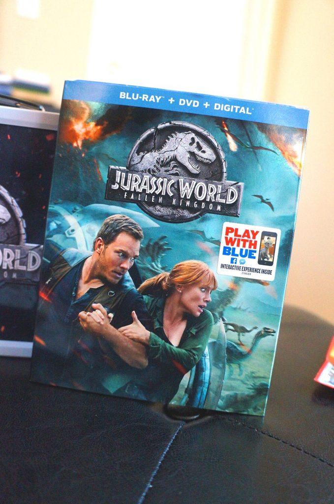 Jurassic World Fallen Kingdom Blu-ray is available now #TeamJurassic
