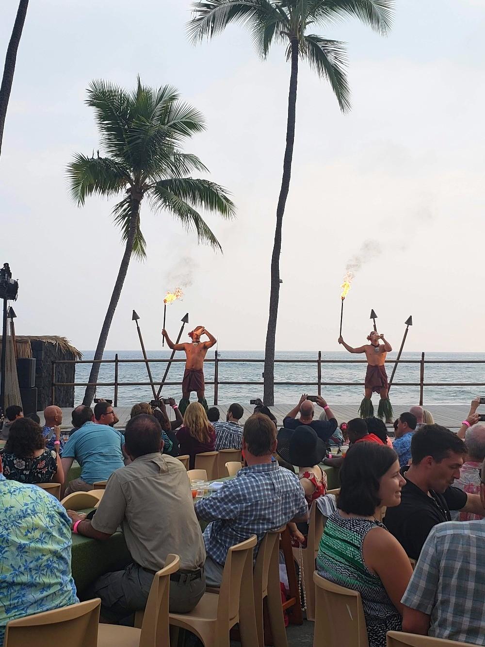 Big Island luau at the Kona Resort