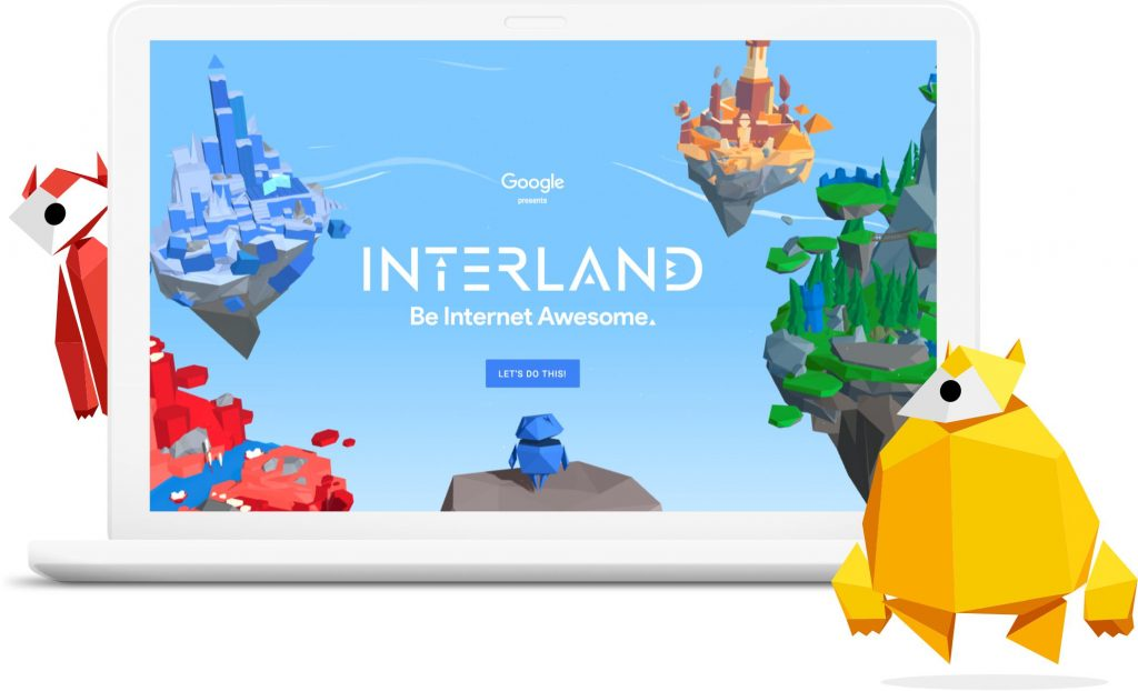 Google's Interland game, Be Internet Awesome