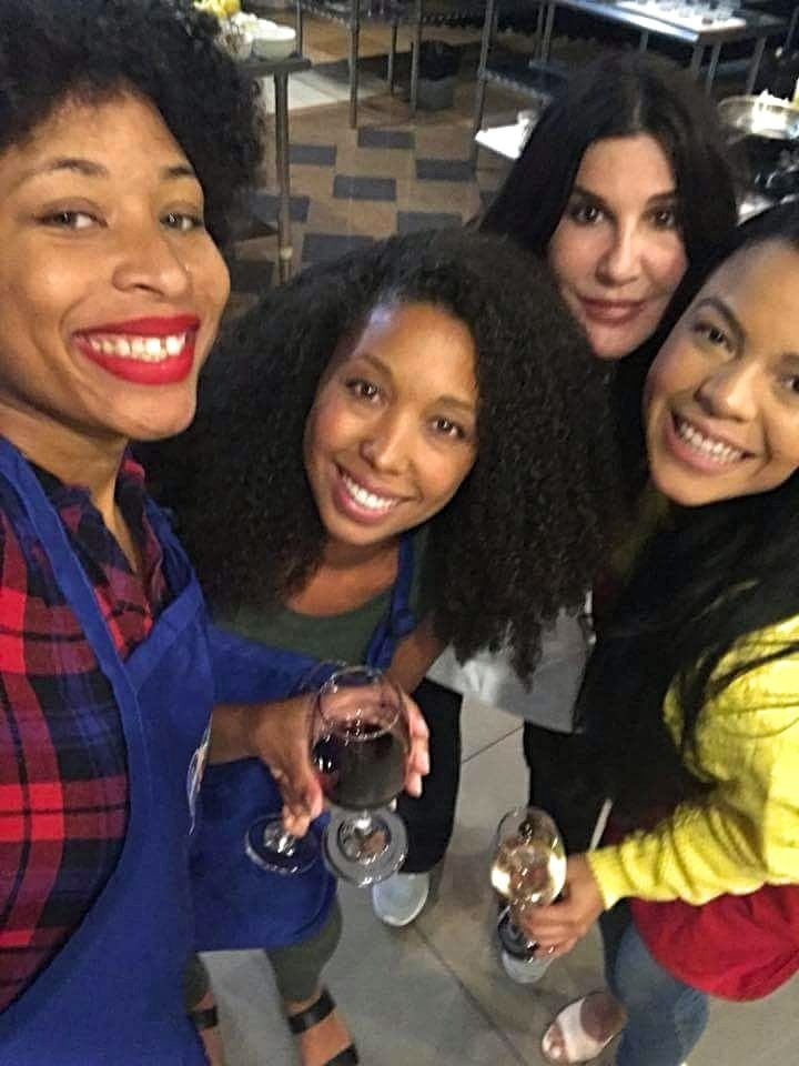 NOW Foods brand ambassadors Kisheyna Kiwi Durham, Deanna Underwood, Janine Hill, and Candy Calderon