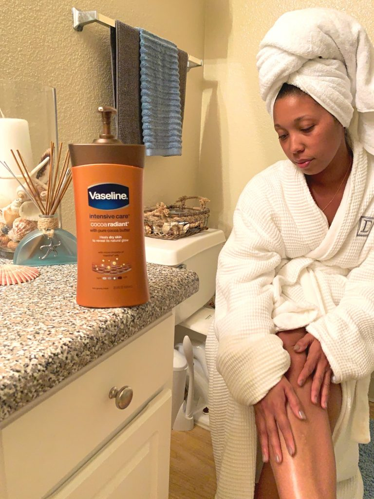 3 Essential Ways To Keep Your Skin Hydrated In The Winter - Dry skin in cold weather is the worst, here's how to moisturize skin overnight with Vaseline Intensive Care Body Lotion