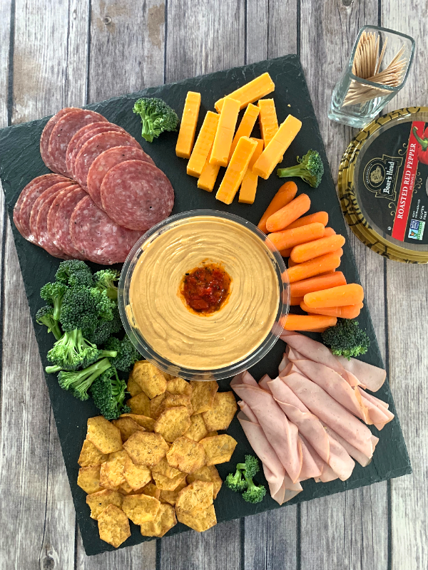 5 Tips To Make A Crowd-Pleasing Hummus Appetizer Platter with Boars Head Hummus