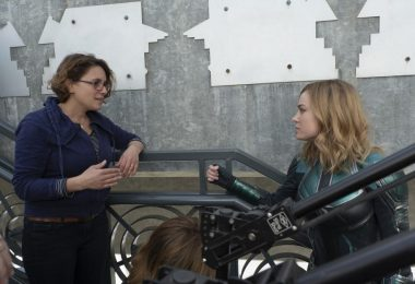 Captain Marvel Director Anna Boden and Brie Larson, Carol Danvers