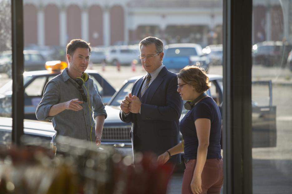 Captain Marvel set photos, Ben Mendelsohn