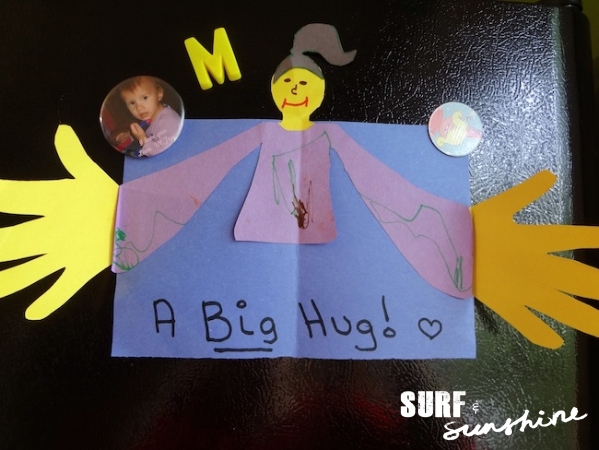 diy-fathers-day-card-hug, Surf N Sunshine