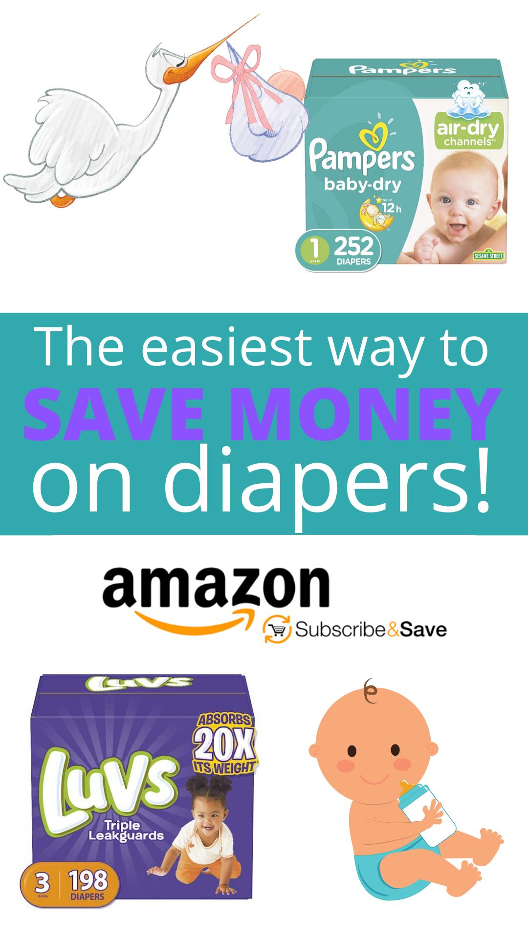 Amazon diaper deals - Save money on Diapers