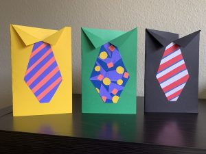 DIY Father's Day Tie Cards to Make with Kids